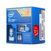 英特尔 酷睿四核i7-4770 Haswell全新架构盒装CPU(LGA1150/3.4GHz/8M三级缓存/84W/22纳米)