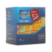 英特尔 酷睿四核i7-3770 盒装CPU(LGA1155/3.4GHz/8M三级缓存/77W/22纳米)产品图片主图