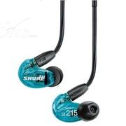 舒尔 SHURE SE215特别版 舞台绕耳(蓝色)