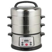 韩派 HP-131不锈钢多功能电煮锅 电蒸锅 电火锅 电蒸煮一体化锅