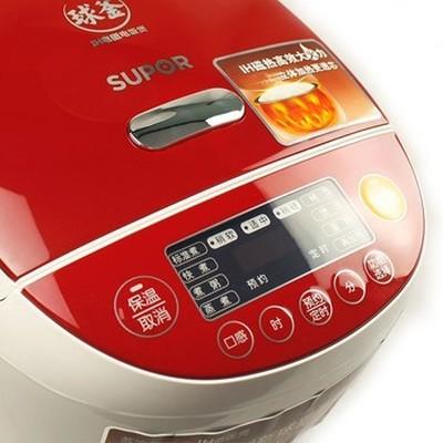 苏泊尔 CFXB40HC3-120 球釜IH电磁电饭煲(红色)产品图片3