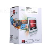 AMD APU系列双核 A4-5300 盒装CPU(Socket FM2/3.4GHz/1M缓存/HD 7480D/32/65W)
