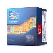英特尔 酷睿双核i3-3240 盒装CPU(LGA1155/3.4GHz/3M三级缓存/55W/22纳米)