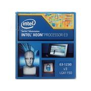 英特尔 至强四核E3-1230V3 盒装CPU (LGA1150/3.30GHz/8M/80W/22纳米)