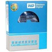 西部数据 (Western Digital 500GB 5000AAKX 7200转16M SATAIII 金装硬盘联强货 6Gb/s 3.5寸台式机硬盘