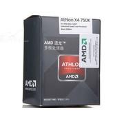 AMD 速龙II四核 750K 盒装CPU(Socket FM2/3.4GHz/4M缓存/100W)