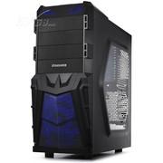 至睿 战魔A9豪华版 机箱(倒置38度架构/原生USB3.0/SSD位/透明侧板/3个风扇)黑色