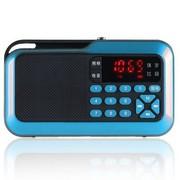 环宇飞扬 F365 FM收音照明、TF卡、数字点歌便捷插卡、电脑、手机音箱 湖蓝色