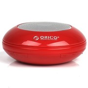 ORICO BTP16-RD 手机/电脑蓝牙音箱 兼容苹果 多媒体迷你音箱 红