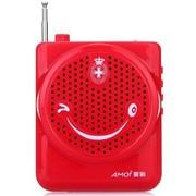 夏新 V11 便携式插卡播放器 唱戏机 专业扩音机 FM收音机 火山红