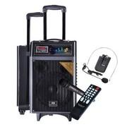 先科 天韵10号 单10寸拉杆音箱 户外便捷式音响/大功率录音扩音器