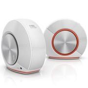 JBL PEBBLES音乐蜗牛 即插即用立体声音箱 白色