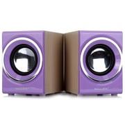 新科 SM-700 多媒体迷你音箱 (紫色)