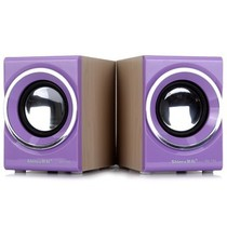 新科 SM-700 多媒体迷你音箱 (紫色)产品图片主图