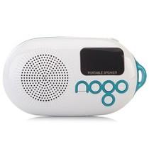 乐果 Q12经典版 收音 便携插卡 小音箱 迷你音响中文显示屏(孔雀蓝)产品图片主图