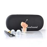 新声 无线深耳道式隐形助听器老年人耳聋耳背机全数字双通道智能降噪