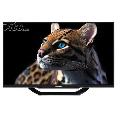 长虹 LED39C2000 39英寸窄边LED电视(黑色)产品图片1
