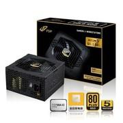 全汉 额定500W AS 500电源 (80PLUS金牌/全日系电容/自主研发芯片MIA IC开创电源新时代)