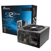 海韵 额定620W S12II-620 电源(80PLUS铜牌/智能温控静音风扇/支持SLI/支持背线)