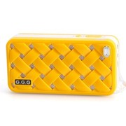 G.G.G MOST(萌) 便携式插卡音响 迷你小音箱 MP3音乐播放器 (橙色)