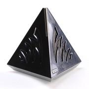 G.G.G T-BOX(酷) 蓝牙音箱 无线音响 双喇叭 立体声 低音炮 独特三角形设计 (黑色)