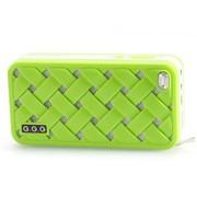 G.G.G MOST(萌) 便携插卡音响 8GTF卡套装 笔记本音箱 MP3音乐播放器 (绿色)
