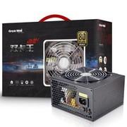 长城 额定600W 双卡王BTX-600SE 电源 (80PLUS铜牌/背板走线/12cm静音风扇)