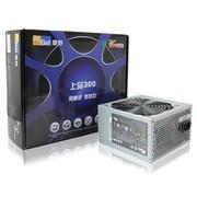 康舒 额定300W 上品300 电源(120mm温控静音风扇/ROHS/MTBF10万小时)