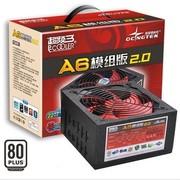 超频三 额定500W A6模组2.0电源(全模组/80白牌)