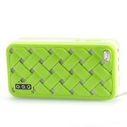 G.G.G MOST(萌) 便携式插卡音响 迷你小音箱 MP3音乐播放器 (绿色)