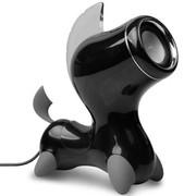 I-mu i-ma 马到成功 黑马 创意多媒体音箱 马上得现金 大师级外观设计 3.5mm音频插头 黑色