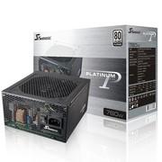 海韵 额定760W P-760 电源(80PLUS白金牌/全模组/支持双CPU/支持SLI/支持背线)