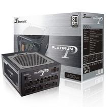 海韵 额定860W P-860 电源(80PLUS白金牌/全模组/支持双CPU/支持SLI/支持背线)产品图片主图
