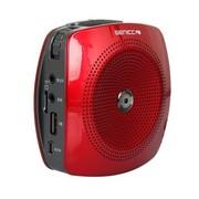 硕美科 声丽(SENICC)K510 多功能便携数码扩音器 LED数码显示器 可插USB/TF卡 红色