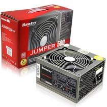 航嘉 jumper500 电源(额定500W/80plus白牌/主动PFC/全电压/智能温控/背部走线)产品图片主图