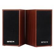 硕美科 声丽(SENICC) SN-465 多媒体电脑低音炮音响 木质时尚潮流 进口木桃色