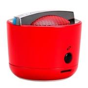 G.G.G smart(品客) 无线蓝牙音箱 免提通话 插卡音箱 迷你便携 MP3音乐播放 (红色)