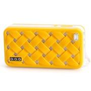 G.G.G MOST(萌) 便携插卡音响 8GTF卡套装 笔记本音箱 MP3音乐播放器 (橙色)