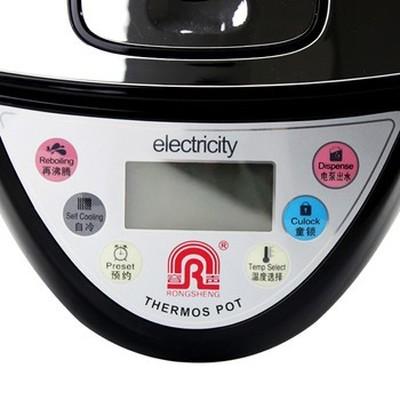 容声 /Ronshen RS-K-755全不锈钢电热水瓶五段保温 童锁功能产品图片5