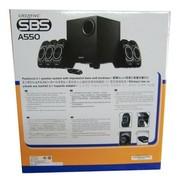 创新 SBS A550 5.1环绕音箱系统 黑色