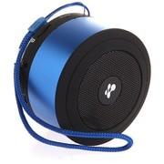 佐伴 ZB-BP09BL 蓝牙无线插卡音箱 免提通话 音频输入 插卡 收音机(蓝色)