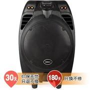 新科 T505A 广场舞电瓶拉杆音箱 大功率插卡便携移动音响