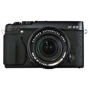 富士 X-E2 单电套机 黑色(XF 18-55mm F2.8-4 R LM OIS 镜头)