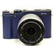 富士 X-A1 单电套机 蓝色(XC 16-50mm F3.5-5.6 OIS 镜头)