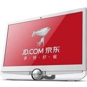 東格 AD101一体台式电脑(AMD 双核P560/2G/500G/DVD/DOS)珍珠白