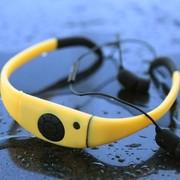 塔悦 运动蓝牙耳机耳麦 立体声国家专利头戴式8级防水耳机 跑步耳机 超索尼防水 黄