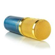 酷道 K1手机唱吧K歌电容麦克风 电脑专业录歌卡拉ok 蓝色