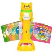 纽曼 18C 快乐版 天才宝贝型 早教点读笔 8G 黄色 0-7岁宝宝适用 (标配20本经典有声图书)