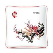 TPOS R501 中国风梅兰竹菊系列移动电源之梅 5000mAh 毫安 聚合物更放心(适用iPhone 三星 HTC 诺基亚等)