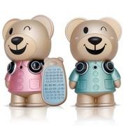 卡梵亚(KAVAYA) 卡卡熊音乐家 早教儿童MP3故事机带遥控 粉色